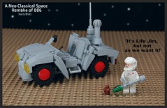 It's Life Jim, but not as we want it!' (Invicta Bricks) Tags: classic lego space buggy remake ncs 897