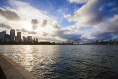 * Sydney. (Wook..) Tags: ocean travel bridge sea seascape beach canon landscape cityscape sydney australia 5d canon5d operahouse seashore harbourbridge 1635 wook travelphoto canon1635 bangwook wwwbangwookcom wwwkoreawookcom