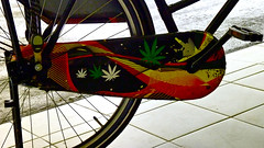 Bicycle detail (Akbar Sim) Tags: bicycle denhaag cannabis fiets weet agga akbarsimonse akbarsim