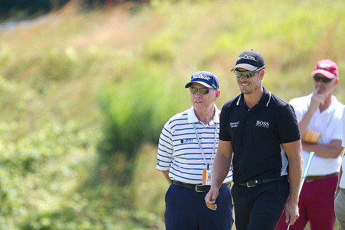 Henrik Stenson & Butch Harmon by myophoto, on Flickr