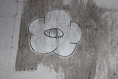 IMG_1752 (Dave Meek) Tags: galveston flower eye strand graffiti texas district tourist historic