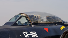 AVRO Canada CF-100 cockpit - Canadian Warplane Heritage - Hamilton Ontario Airshow (edk7) Tags: ontario canada plane airplane airport paint fighter aircraft aviation military hamilton cockpit prototype parked canopy loan canuck interceptor rcaf ecm munro d300 allweather royalcanadianairforce cf100 2013 18101 cwh twinjet canadianwarplaneheritage yhm avrocanada hamiltonairshow electroniccountermeasures mk5d canadaaviationandspacemuseum edk7
