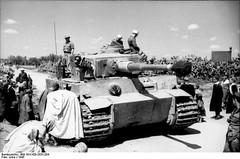 German Tiger I Tunisia, 1943