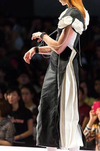 王敏芝 WONG Man Chi, ManG: Contemporary Pinocchio: Look 1: Metamorphosis / PolyU Fashion Show 2013 / SML.20130626.6D.17161