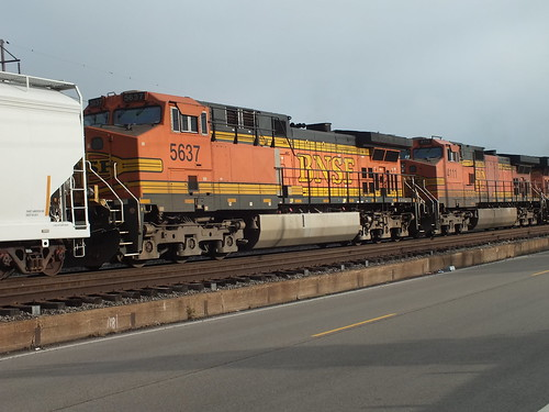 BNSF 5637 7/22/2013