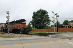 THE REAL HERITAGE (Nick(notreallyNick)Brown) Tags: road line signals milwaukee bandit cp soo epic emd railfanning gp40 2057 heritae