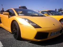 Lamborghini Gallardo 5.2 '07 (Falcon_33) Tags: street paris cars italia wheels engine autoshow ferrari salon gt lamborghini luxury supercar v8 07 v10 52 gallardo v12 exaust prestige sportcars dohc mondialdeparis iamthespeedhunter