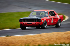 1968 Ford Mustang (autoidiodyssey) Tags: usa cars ford race vintage westvirginia 1968 mustang summitpoint jefferson500 2013jefferson500 tonyconover