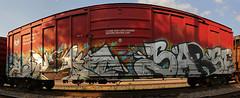 ASPEKT SARSE (The Braindead) Tags: art minnesota train bench photography graffiti painted tracks minneapolis rail explore beyond the