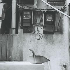 dustpan (Kumiko SEKIGUCHI) Tags: bw film vintage square hasselblad ilford 66 blackwhite hassselblad500c
