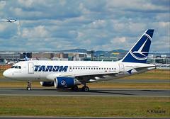 TAROM A318 YR-ASB (Adrian.Kissane) Tags: frankfurt a318 tarom 2955 yrasb