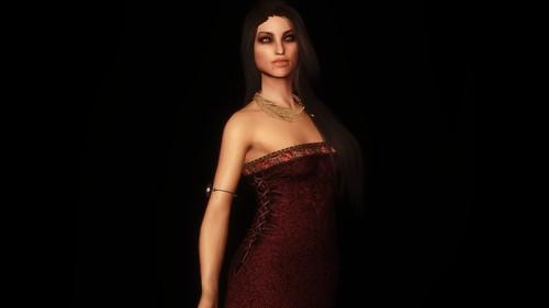Brocade Triss Dress