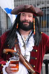 Blackbeards Beer (EJ Images) Tags: uk portrait england slr nikon sailing norfolk quay maritime pirate nautical yarmouth dslr greatyarmouth eastanglia blackbeard nikonslr d90 maritimefestival nikondslr 2013 nikond90 18105mmlens greatyarmouthquay pirateportrait greatyarmouthmaritimefestival yarmouthmaritimefestival ejimages greatyarmouthmaritimefayre dsc0976c
