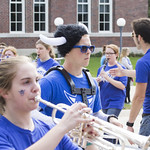 """<b>Homecoming Parade</b><br/> Homecoming Parade. Photo taken by Toby Ziemer on 10/5/13.<a href=""""http://farm4.static.flickr.com/3830/10102118853_aeaf4ac0ee_o.jpg"""" title=""""High res"""">∝</a>"""
