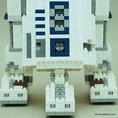 nanoblock R2-D2 (inanoblock) Tags: toy toys star robot starwars bricks lucas r2d2 jedi blocks wars build buildingblocks nanoblock  nanoblocks