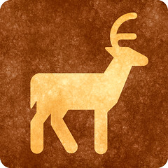 Sepia Grunge Sign - Deer Viewing (Free Grunge Textures - www.freestock.ca) Tags: life road park street old wild brown texture animal sign yellow sepia fauna corner vintage scrapbook scrapbooking square grit drive design photo high beige driving view traffic graphic image symbol decorative quality background wildlife grunge stock grain decoration picture free gritty icon retro deer antlers age worn signage area resolution aged wilderness grime deco distress res aging distressed rounded viewing parc pictogram element resource symbolic textured grungy antler corners recreational pictograph grimy freestockca