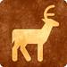 Sepia Grunge Sign - Deer Viewing
