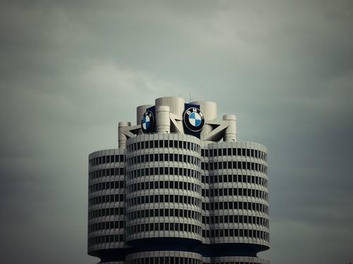 Siège de BMW, Münich, Allemagne