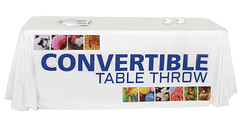 Fabric Table Cover | Signarama | Convertible 6'