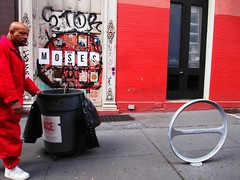 moses (Street Witness) Tags: street nyc up st photography graffiti paste passerby crosby