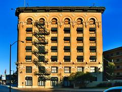 Flatiron Building, Facade View (StevenM_61) Tags: architecture cityscape texas historical fortworth commercialbuilding explored
