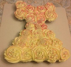 Princess Cupcake Cake by Debbie, Harford County, MD, www.birthdaycakes4free.com