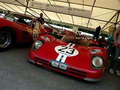 512S (BenGPhotos) Tags: red classic 1969 sports car festival race speed italian s ferrari racing spyder historic prototype endurance legend fos goodwood 512 v12 1006 2013 512s