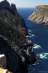 20131201-19-Tasman Island from Cape Pillar sea cliffs.jpg (Roger T Wong) Tags: ocean sea water trek outdoors nationalpark walk australia hike tasmania np bushwalk tramp seacliffs tasmanpeninsula dolerite canonef24105mmf4lisusm tasmanisland canon24105 tasmannationalpark capepillar canoneos6d