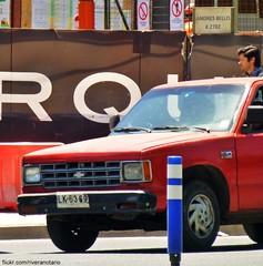 Chevrolet S-10 - Santiago, Chile (RiveraNotario) Tags: santiago chile cars carspotting pickuptruck pickups chevrolet chevrolets10 camionetas autos riveranotario