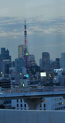 Tokyo Tower (tokyobogue) Tags: tower japan lights tokyo dusk tokyotower olympics 2020