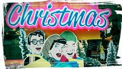 lush Christmas (dawn.v) Tags: cameraphone christmas uk england window vintage festive word december seasonal retro motorola dorset mobilephone shopwindow bournemouth motog mobilephonephotography 113picturesin2013 113picturesin2013project