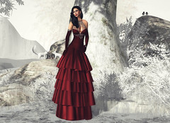 Winter's Crimson Princess
