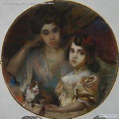 Romualdo Prati Madre con figlia di Gasperi Mario