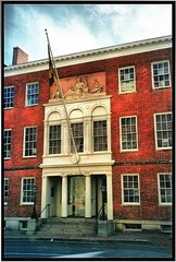 PEALE MUSEUM ~ Baltimore MD ~ My Old Film ~ Historic Building (Onasill ~ Bill Badzo) Tags: county old building film museum us md nation maryland landmark baltimore historic historical society rembrandt hdr peale nrhp onasill