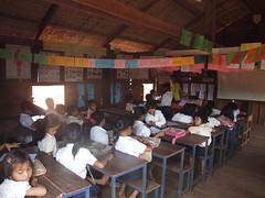 Chai Thom, Cambodia (United World Schools) Tags: school cambodia classroom class learning teaching