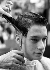 92 Dec n19 (John Elmslie) Tags: street haircut toronto west men shop buzz queen short barber taper aristotelis