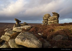 Crow Stones (H4RSX) Tags: winter sunset heather derbyshire peakdistrict january peaks gritstone crowstones gritstonetors sonynex7 crowstonesedge manfrottobefree sonye1670mmf4zaosslens