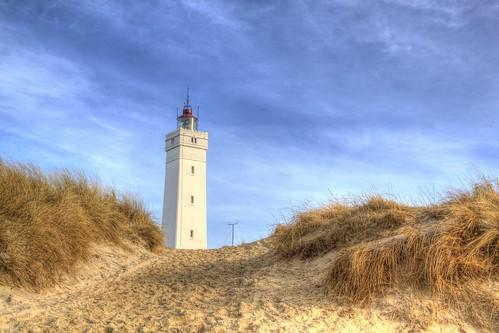 Blavand Lighthouse Winter Light