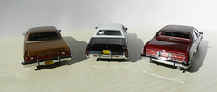 The 70's (BlueAtlantic38) Tags: usa ford buick neo chrysler resin 143 americancars neoscalemodels