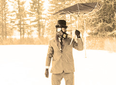39_of365 (modeflip) Tags: hat umbrella top gasmask