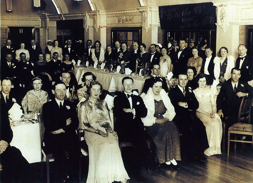 Mr and Mrs Lynch 2nd from Left 1937