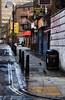 Juices Of The Street (Dimmilan) Tags: street uk england urban building london cityscape advert bollard oldarchitecture galleryoffantasticshots
