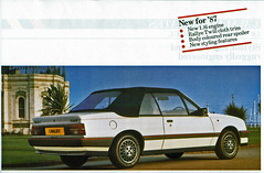 1987 Vauxhall Cavalier 1.8i Convertible (coconv) Tags: pictures auto old white english classic cars car vintage magazine ads advertising cards photo flyer automobile gm post image photos antique 1987 postcard ad picture convertible images advertisement vehicles photographs card photograph postcards vehicle british cavalier autos collectible collectors brochure automobiles 87 opel vauxhall dealer cabriolet prestige 18i