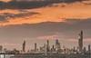 Kuwait - Salmiya - Heavy Clouds Of Sunse Over Skyline Of Kuwait (Sarah Al-Sayegh Photography | www.salsayegh.com) Tags: longexposure sunset cityscape kuwait landscapephotography الكويت الغروب stateofkuwait top20flickrskylines كانون leefilters canoneos5dmarkiii canon5dmark3 wwwsalsayeghcom sarahhalsayeghphotography infosalsayeghcom