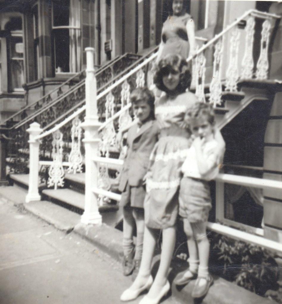 Servadei Kids 96 Queens Drive 1960s