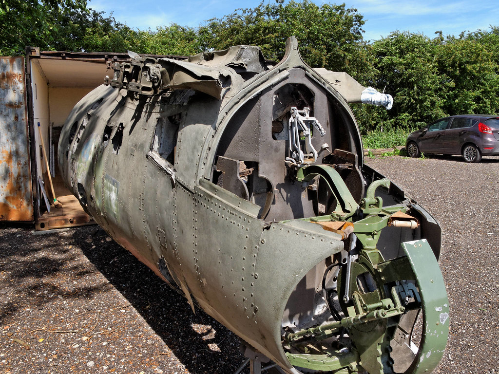 The Worlds Best Photos Of Boxtedairfieldmuseum Flickr Hive Mind B 26 Marauder Engine Diagram Largest Surviving Piece A Martin In Uk Boxted Airfield