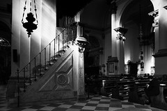 Pray (tampurio) Tags: light italy white black blanco church monochrome grey italia pray negro chiesa ita luci venezia bianco nero chioggia veneto preghiera pregare monocromatica