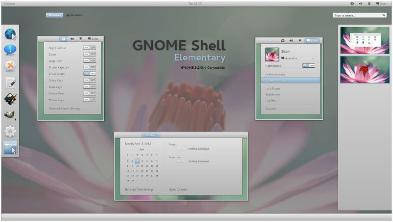 GNOME-Shell-Elementary