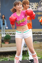 2014  25    () Tags: party portrait baseball outdoor lion taiwan professional taipei cheerleader   tamron fens  2014 cpbl    unigirl  a007    tamrona007