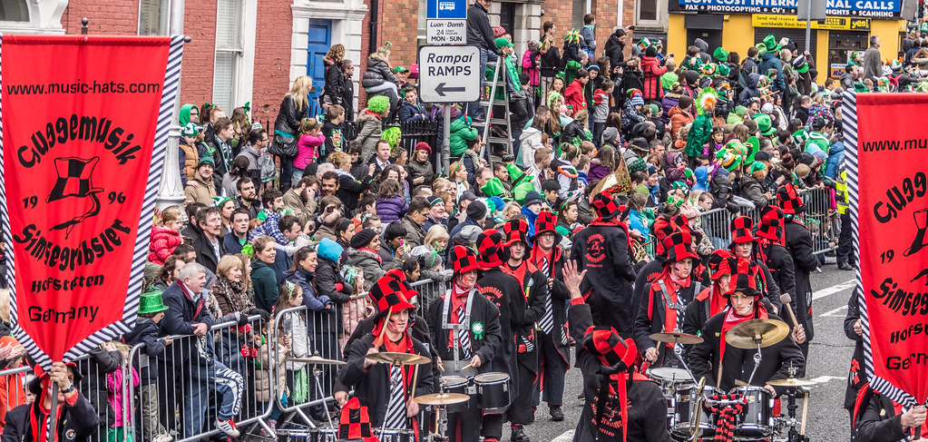 Guggemusik Simsegraebsler Hofstetten From Germany - Saint Patrick's Day Parade In Dublin